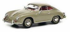 Schuco 1:43 Porsche 356 A Coupe Gray 450260200