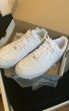 Nike Air Force 1 White Low Basketball Shoes Men's Trainers – Size 10 UK