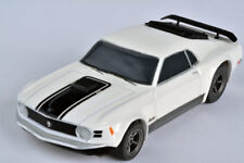 AFX Racemasters Tomy 22000 Mustang Mach 1 White Mega G+ HO Slot Car