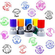 Teacher Rubber Stamp Self Pre Inking School Student Homework Praise Comment 28mm