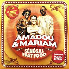 Amadou & Mariam CD Single Sénégal Fast Food - Europe (M/M)