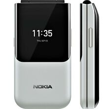 BRAND NEW NOKIA 2720 FLIP 4G LTE DUAL 2019 FM CAMERA MP3 UNLOCKED GREY GENUINE