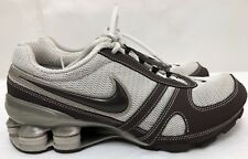 2007 Womens NIKE SHOX 316888-021 Brown/White Running Shoes SIZE 6.5 ~RARE COLOR~