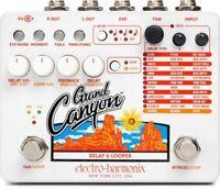 Electro-Harmonix Grand Canyon EHX Delay and Looper Guitar Pedal NEW