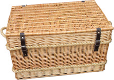 Large Toy storage wicker chest trunk