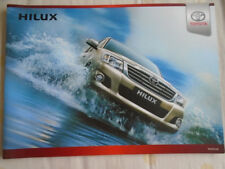Toyota Hilux brochure undated UAE market Arabic & English text