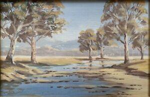 Original Oil Painting By Leslie Sands (1917-?) 'Gums'