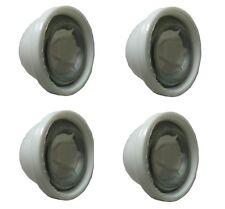 Power Wheels White Wheel Retainer Cap Nuts, 4-Pack - 00801-1452