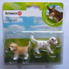Schleich  Farm Life Mini Spielset Hunde Welpen  Neu u. OVP