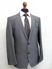 Trajes de hombre en color principal gris 100% lana