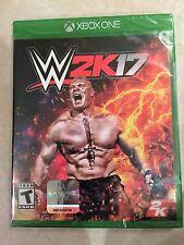 WWE 2K17 (Microsoft Xbox One, 2016) NEW