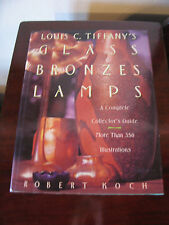 Vintage 1971 Louis C. Tiffany's Glass Bronzes Lamps A Complete Collector's Guide