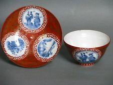 Porzellan Koppchen mit Untertasse Japan um 17. Jhd.