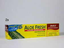2X ALOE FRESH SMILE ESI DENTIFRICIO IN GEL AZIONE SBIANCANTE OFFERTA (2 X 100ml)