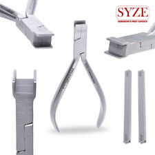 Orthodontic Torque Key Plier 12cm Flat Tips with 2 KEYS Dentist Surgical Pliers