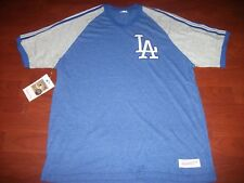 NWT Los Angeles Dodgers Mitchell and Ness Team Henley Tee Size XL