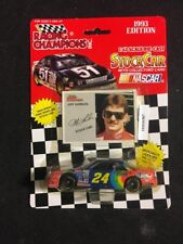RACING CHAMPIONS JEFF GORDON #24 CHEVY LUMINA STOCK CAR 1/43 WITH CARD