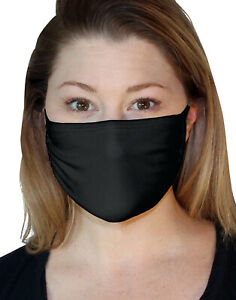 Fruit of the Loom PPE 100% Cotton Face Mask Breathable Washable Bacteria