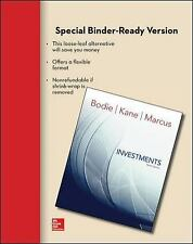 Loose Leaf for Investments by Bodie, Zvi; Kane, Alex; Marcus, Alan