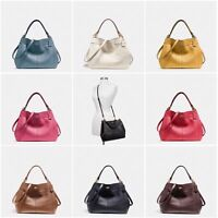 New Coach F23537 F28992 Small Lexy Shoulder Bag In Pebble Leather New With Tags