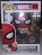 Funko Pop! Marvel: Spider Man-pizza I Love Pi Camiseta-Edición Especial