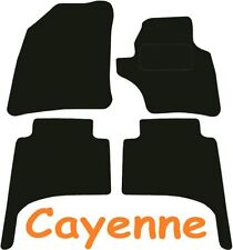 Porsche Cayenne DELUXE QUALITY Tailored mats 2003 2004 2005 2006 2007 2008 2009