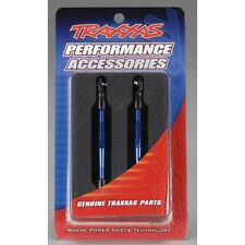 Traxxas 59mm Turnbuckle Toe Link Aluminum Blue for Rustler VXL, TRA3139A
