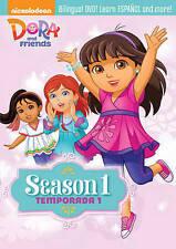 Dora and Friends: Season One 1 DVD, 2015, 4-Disc Set - DAMAGED CASE