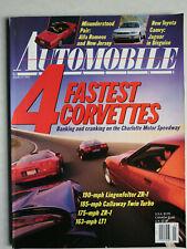 Automobile Magazine 3/1992 mit fastest Corvettes, Rolls Royce Phantom VI, Volvo