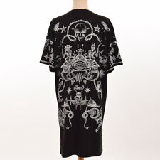 Fashion Printing Leisure Loose T-Shirt Skirt Gothic Girls Harajuku Style Cool