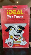 "The IDEAL Pet Door Small 5""x 8""Flap Size Doggie Cats - New"
