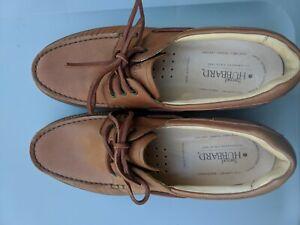 Samuel Hubbard 10.5M Camplight Saddlebag Tan Beige Leather