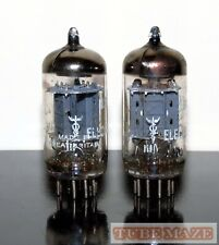 "New ListingRare Matched Pair Mullard ""Electronics for Medicine"" 12ax7/Ecc83 tubes Test Nos"