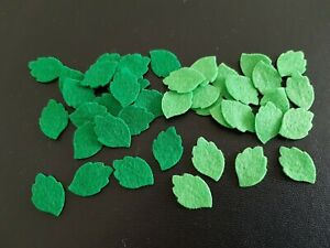 ×40 felt leaf embellishments.Die cut shapes