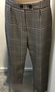 George At Asda Ladies Check Trousers. UK Size 14
