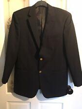 Mens Black Suit Jacket From Skopes Size 40 Regular