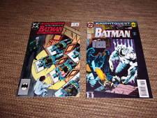 Batman DC comics The many deaths of the Batman, 1989, Knightquest  1994
