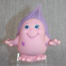 SNUGGLEBUMMS PLAYSKOOL Vintage Hasbro Fondly Pink Figure Giggle Squeak 1984