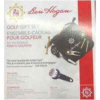 Ben Hogan Golf Gift Set Pouch Divot Tool Poker Chip Ball Marker Liner Tees NEW