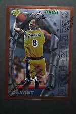 Kobe Bryant 1996-97 Topps Finest Bronze Rookie Card #74 Apprentices w/ Coating