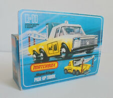 Repro Box Matchbox SuperKings K-11 Pick-Up Truck