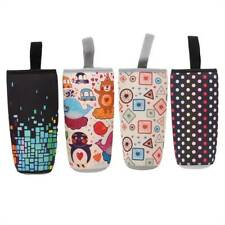 Cartoon Water Bottle Coffee Cup Holder Insulated Mug Cover Carrier Cup Set LD