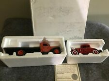 National Motor Museum Mint 1941 Atlas Flatbed Truck & 1932 Roadster Fire Chief