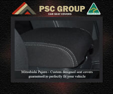 CONSOLE LID COVER Mitsubishi Pajero 2000-Now 100% WATERPROOF PREMIUM NEOPRENE