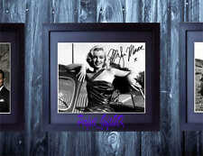 Marilyn Monroe Signed Autographed Mounted & Framed 10x8 PP Repro Photo Print