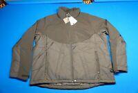Mens full zip jacket, Insulated Hybrid Soft Shell Jacket, Size Med, Black