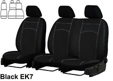 FORD TRANSIT CONNECT 2015 2016 2017 2018 2019 ECO LEATHER TAILORED SEAT COVERS