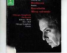 CD DANIEL BARENBOIM / BEETHOVENmissa solemnis op 1232CD EX ERATO  (A3688)