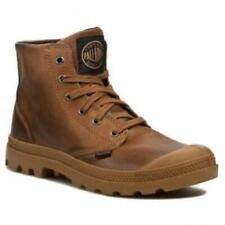 NIB PALLADIUM Pampa Hi Leather C.Brown/Black Men's Lace Up Ankle Hiking Boots
