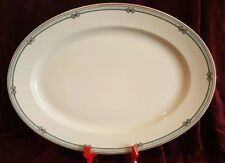 """Nippon MELBOURNE Serving Platter HAND PAINTED  17"""" X 13"""""""